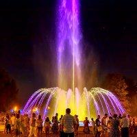 Анапа. Поющий фонтан. :: Елена Васильева
