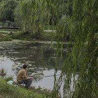 Молодой рыбак. :: Яков Реймер