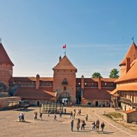 Trakai Castle inside :: Roman Ilnytskyi