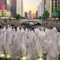 Ручей в центре Сеула :: Евгений Подложнюк