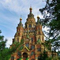 В Петергофе, чудесный храм. :: Святец Вячеслав