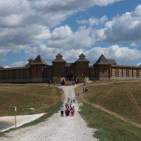 Скифская крепость - деревня мастеров, «Кудыкина гора» :: ~К а р е г л а з а я~