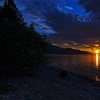Восход... Байкал! :: Светлана Воробьёва
