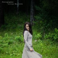 Девушка в загадочном лесу :: Лилия Морозова