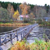 Мост в осень :: Сергей Смирнов