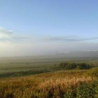 Уходит утренний туман... :: Николай Туркин
