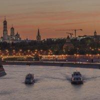Закат над рекой :: Борис Гольдберг
