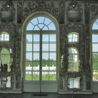 Вид из окон Екатерининского дворца :: Elena