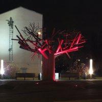 Ночной фонтан.... :: Александр Литвин