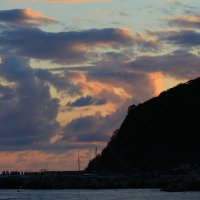 закат на черном море :: Евгений Воронков