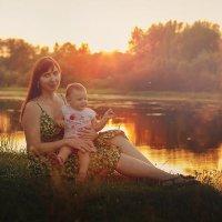 Мама с доченькой :: Ольга Куренкова