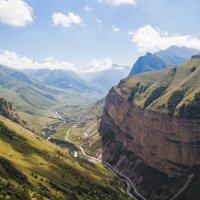 Чегемское Ущелье с высоты 2400 метров :: Алексей Александров