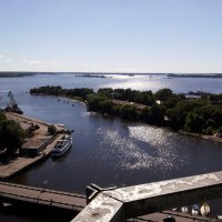 Вгляд на Финский залив из окон Выборгского замка. :: Жанна Викторовна
