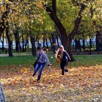 в листьях... :: Александр Прокудин