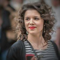 Уличный портрет. :: Валерий Трусов