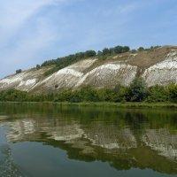 Белые горы вдоль реки Дон. :: Чария Зоя