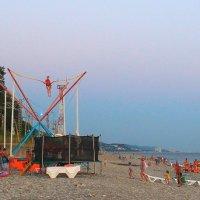 """""""Вечером на пляже ..."""" :: Андрей Горячев"""