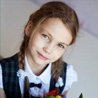 Первоклассница :: Наталья Тривайлова