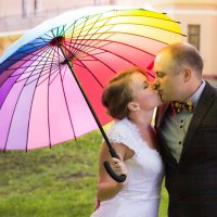 Радужная свадьба :: Татьяна Бабкина