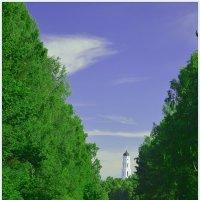 дорога к храму. :: владимир ковалев