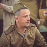 Солдат на привале :: Виктор Седов