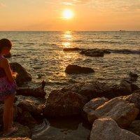 Девочка и море :: Виктор Мороз
