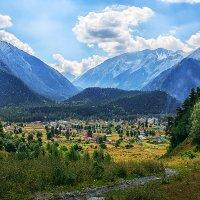 Вид на поселок Архыз :: Olga Vorzheva