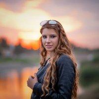 на закате :: Анюта Колмакова