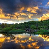 Огненный закат :: Альберт Сархатов