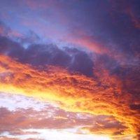 Пожар в небе :: Анастасия Барейкина