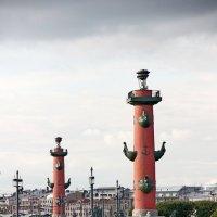 Ростральные колонны (Санкт-Петербург) :: Александр Яковлев