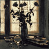Натюрморт с розами :: Станислав Лебединский