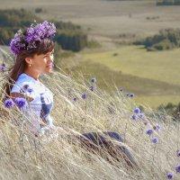Фиолетовый август :: VitokFly