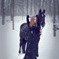 девушка и лошадь :: Ирина Мелешко