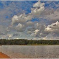 на Рыбинском водохранилище :: Дмитрий Анцыферов