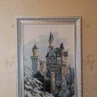 Замок зимой :: Викуля Ясное Солнышко