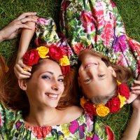 """Проект """"Мама и дочка"""" :: Оксана Зарубина"""