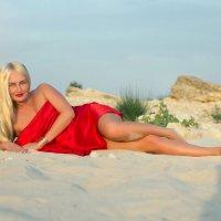 на песке... :: Райская птица Бородина