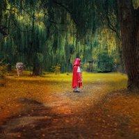 Красная шапочка Самирочка :: Оксана Чепурнаева