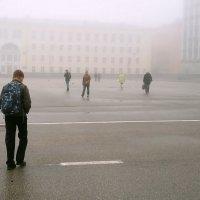 Туман в городе :: Майкл