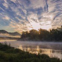 Утро мое туманное... :: Альмира Юсупова