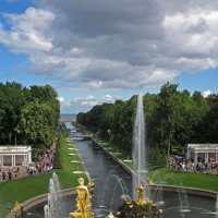 Петергоф. Нижний парк (Санкт-Петербург, Петродворцовый район) :: Павел Зюзин