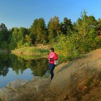 Осенний пруд :: Натали Акшинцева