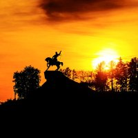 Уфа памятник Салавату Юлаеву :: Константин Вавшко