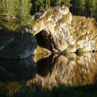 Скала «Каменные ворота» на реке Исеть. :: Олег Дейнега