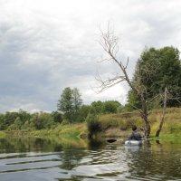 На реке :: Татьяна Баценкова