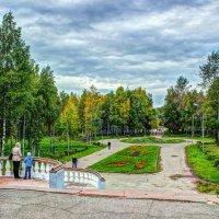 Вход в парк :: Александр