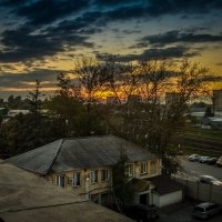 Закат над Одинцово :: Timur Sharipov