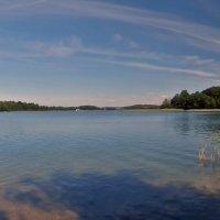 Panorama Trakai Lake :: Roman Ilnytskyi