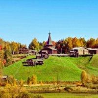 Осень в Малых Корелах :: Виктор Заморков